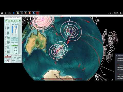 12/19/2016 -- M6.7 earthquake strikes during update -- Deep EQ leads to large EQ