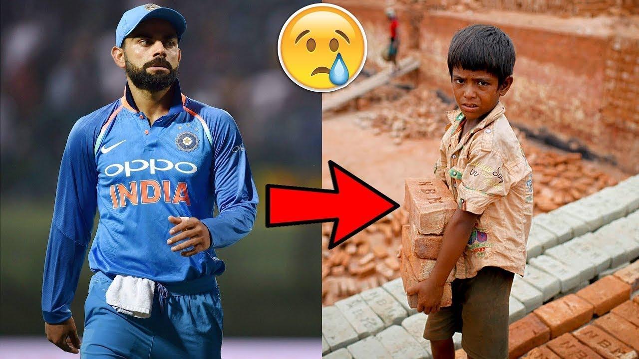 5 क्रिकेट खिलाडी जो बेहद गरीब थे I Top 5 Cricketers Who Become Poor to Rich