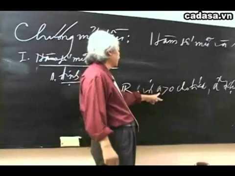 Ôn thi môn toán 2014 - Chuyên đề toán THPT - Hàm số mũ - Cadasa.vn