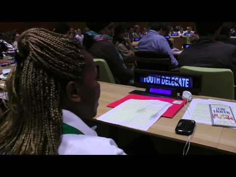 Sarah Mwikali speech to Malala Day UN Youth Takeover