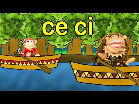 Sílabas ce ci - El Mono Sílabo - Videos Infantiles - Educación para Niños #
