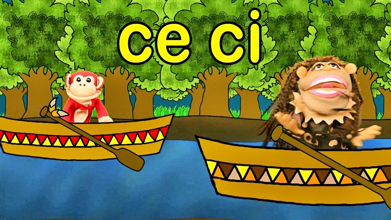 S labas ce ci el mono s labo videos infantiles for Imagenes de estanques para ninos