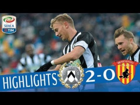 Udinese - Benevento 2 - 0 - Highlights - Giornata 16 - Serie A TIM 2017/18