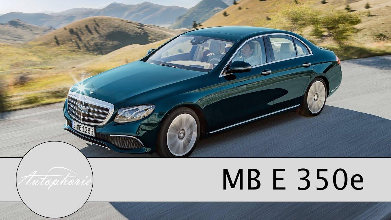 2016 mercedes benz e 350e plug in hybrid w213 spritztour for Mercedes benz 350e