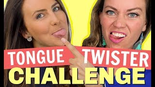 Tongue Twister Pronunciation Challenge 😝 Go Natural English!