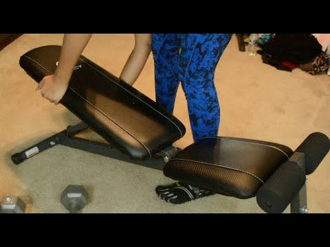 FITNESS: Quick Upper Body Workouts Using the Marcy Utility Bench