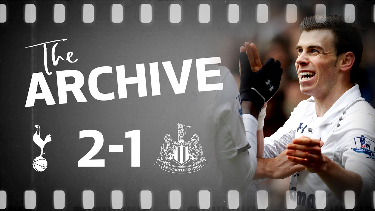 ARCHIVE   SPURS 2-1 NEWCASTLE   Bale brace bags three points against Magpies