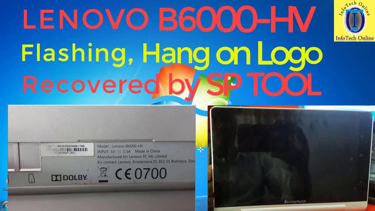Lenovo Yoga 8 Tablet B6000hv FLASHING