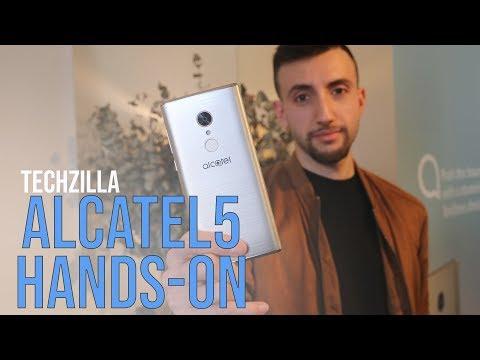 Alcatel 5 Hands-On: 18:9 e FACE ID a 249 Euro ! - MWC 2018