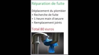 Plombier Paris 10(http://www.plombier-paris10-75010.fr/ Daniel Plombier qualifié paris, Artisan expert Satisfaction de 100% de nos clients Tarifs fixe : 39 euros le déplacement / 39 ..., 2016-07-21T10:43:31.000Z)