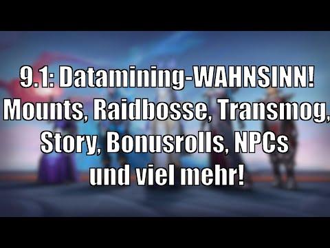 Mega-Liste: Mounts, Gear, Story und so viel mehr - 9.1-Datamines! [World of Warcraft: Shadowlands]