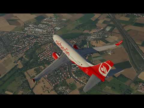 Ultrarealistischer Flug mit einer Boing 737 von Frankfurt nach Bonn