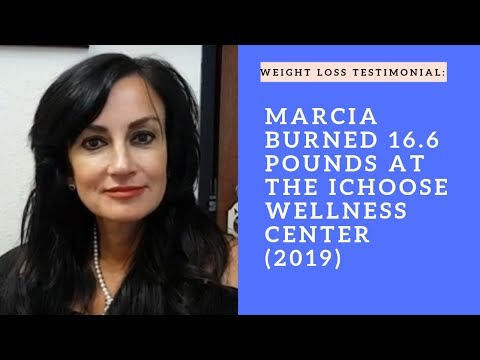 Marcia burned 16.6 pounds and loving every minute of it!