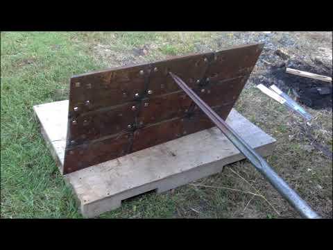 Welding Projects: DIY Railroad plate welding table