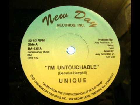 UNIQUE - I'M UNTOUCHABLE ( ultra rare 1989 NJ rap )