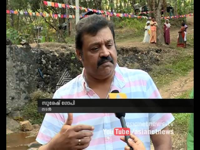 Suresh Gopi is ready to donate for developing Fundamental amenities of Govt. Hospitals