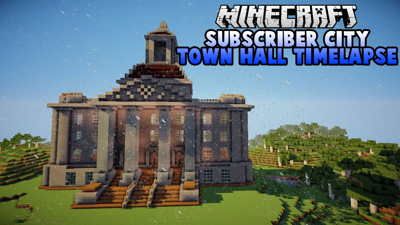 subscriber city town hall timelapse youtube