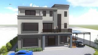 農舍建築3D建案外觀