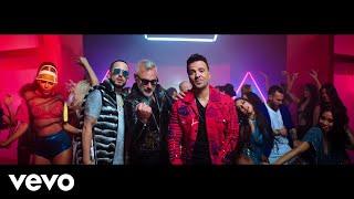 Смотреть клип Gianluca Vacchi, Luis Fonsi Ft. Yandel - Sigamos Bailando