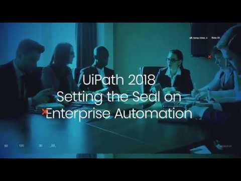 UiPath 2018 Release - Boris Krumrey, Chief Robotics Officer