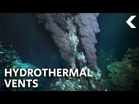 Ocean Volcanoes May Hold Clues To Alien Life