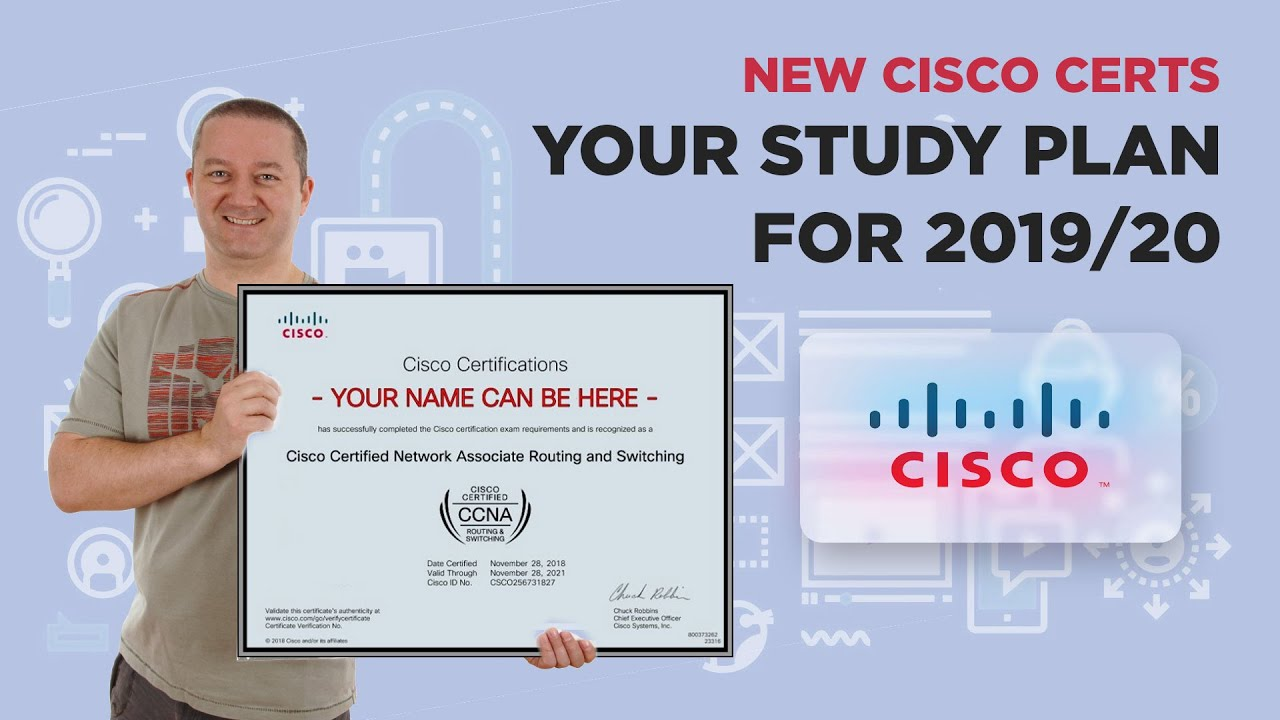 New Cisco Certs - Your Study Plan for 2019/20