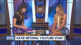 Michigan's Katie Betzing talks about YouTube stardom