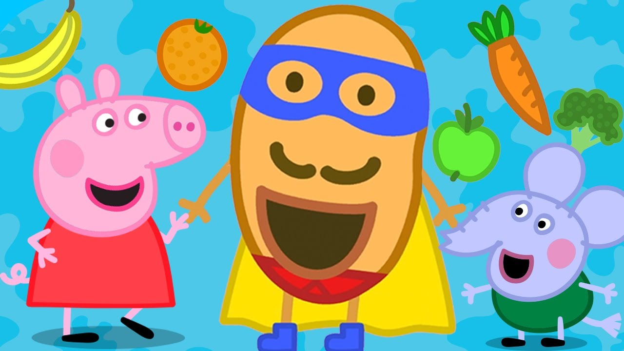 Peppa Pig Italiano NUOVO! - Super Patato - Collezione Italiano - Cartoni Animati
