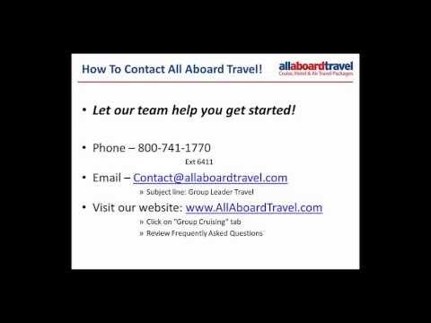 All Aboard Travel Group Leader Seminar *