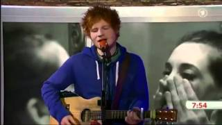 Ed Sheeran - The A Team (ARD unplugged)