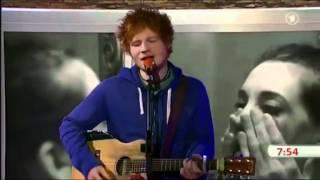 Ed Sheeran - The A Team (ARD unplugged)