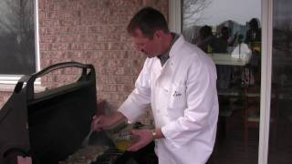 Cooking Shrimp And Fish On The Bbq - A Great Recipe For Barbequing Seafood