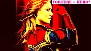 Brie Larson's Captain Marvel Tortures Man for Speaking...This is the Future?