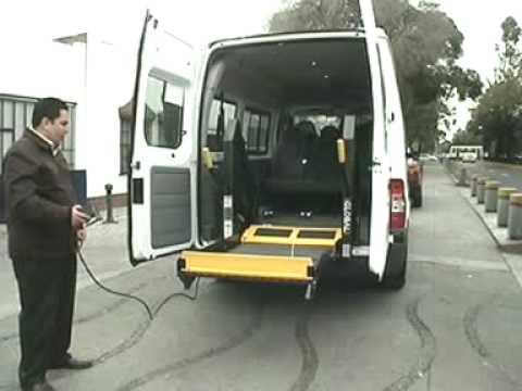 Elevador para silla de ruedas braunability youtube for Plataforma para silla de ruedas
