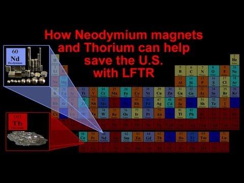Neodymium and Thorium