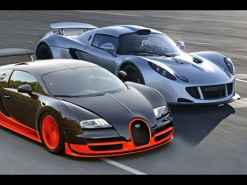 bugatti veyron super sport vs hennessey venom gt youtube. Black Bedroom Furniture Sets. Home Design Ideas