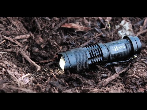 Tac Light by iZoom: Bright 3W LED Flashlight