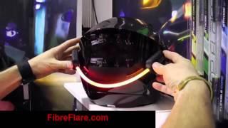 Fibre Flare MVP Bike Helmet LED Light