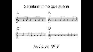 Dictado ritmico