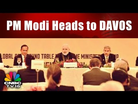 PM Modi Heads to DAVOS || WEF 2018 || India Business Hour || CNBC TV18