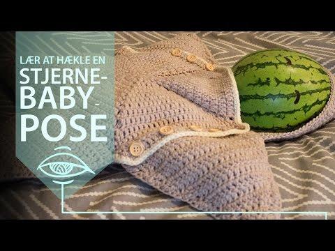 Twinkle twinkle - Lær at hækle en stjerne-babypose