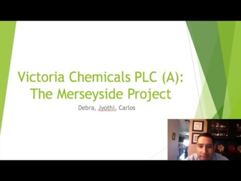 victoria chemicals plc b merseyside and Background victoria chemicals was a leading producer of polypropylene it supplies to customers of europe and the middle east in addition to numerous small producers, there are seven major competitors within its market region victoria chemicals produce polypropylene at merseyside.