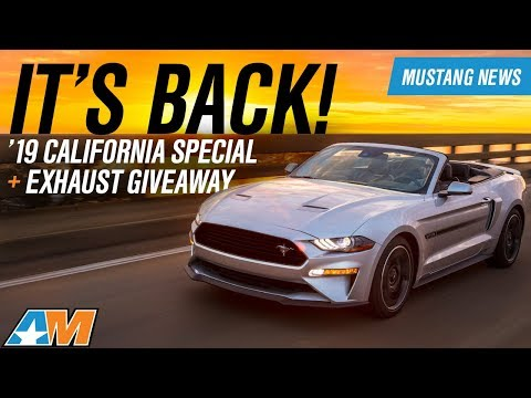 Ford Mustang California Special +   Mustang Saleen Revealed  - Mustang News