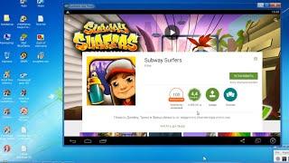 Где скачать и как установить игру Subway Surfers на ПК компьютер Windows xp, 7, 8 бесплатно