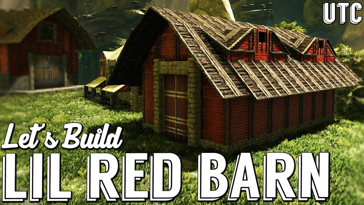 Small Dino Barn Ark Building Tutorial Geeks Aberration Ep 3