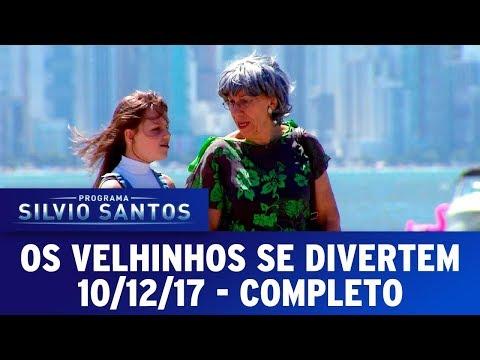Os Velhinhos se Divertem  | Câmeras Escondidas (10/12/17)