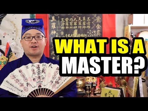 What Makes One a Taoist Master of Taoism?