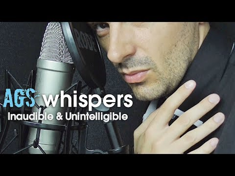 AGS Asmr Inaudible Unintelligible Whispers