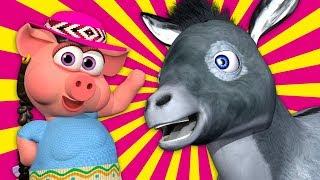 A Mi Burro Le Duele La Cabeza - La Granja de Zenón 4 | El Reino Infantil thumbnail