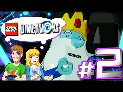 Lego Dimensions: Adventure Time Level Pack PART 2 A Book and a Bad Guy Final Boss (HD)